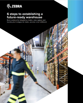 6 Steps to a Future-Ready Warehouse eBook Cover
