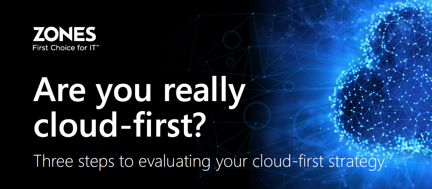 This e-book will help your IT organization develop a cloud-first strategy to keep pace with, if not surpass, your competition.