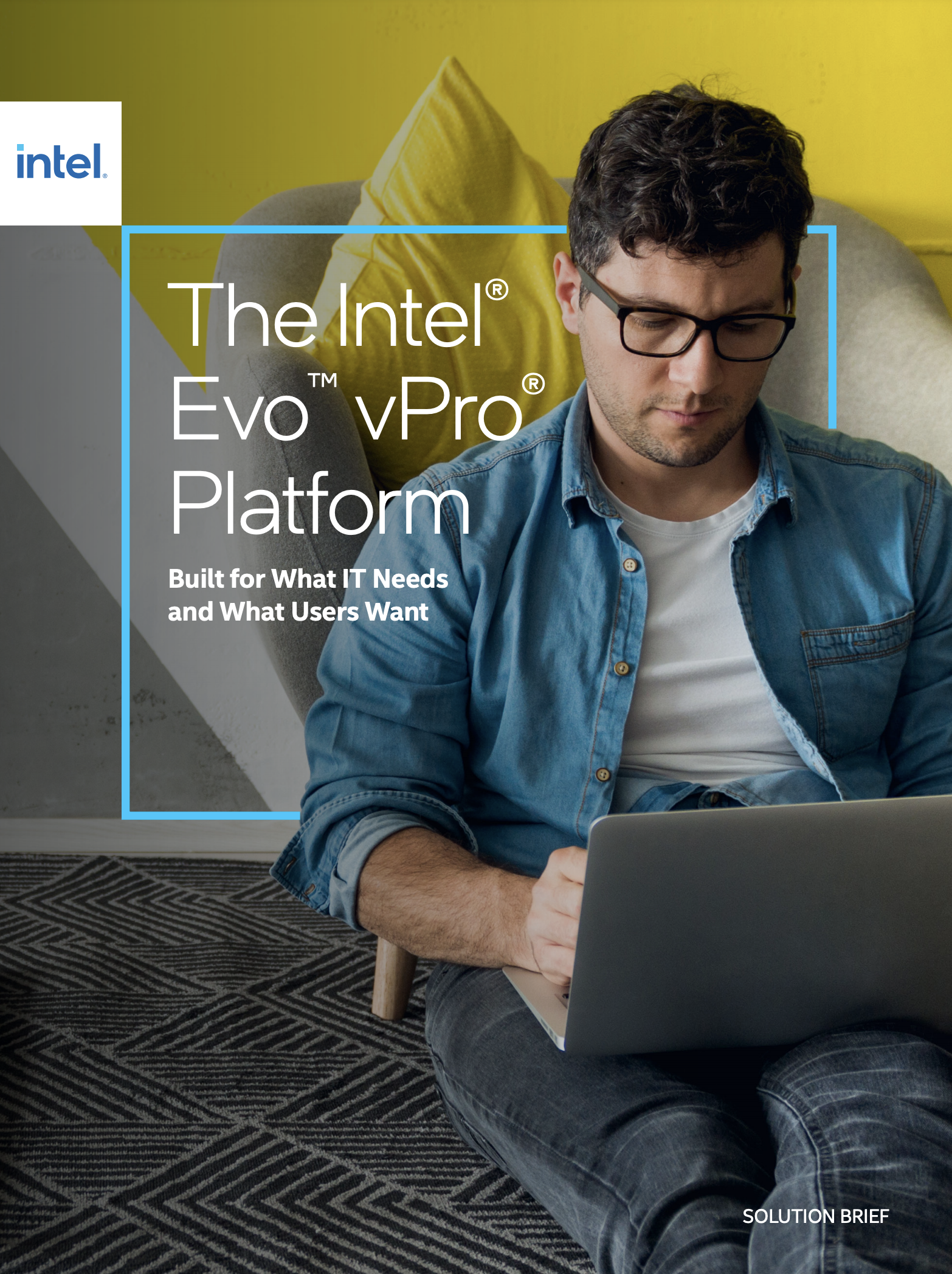 Intel vPro Solution Brief Cover