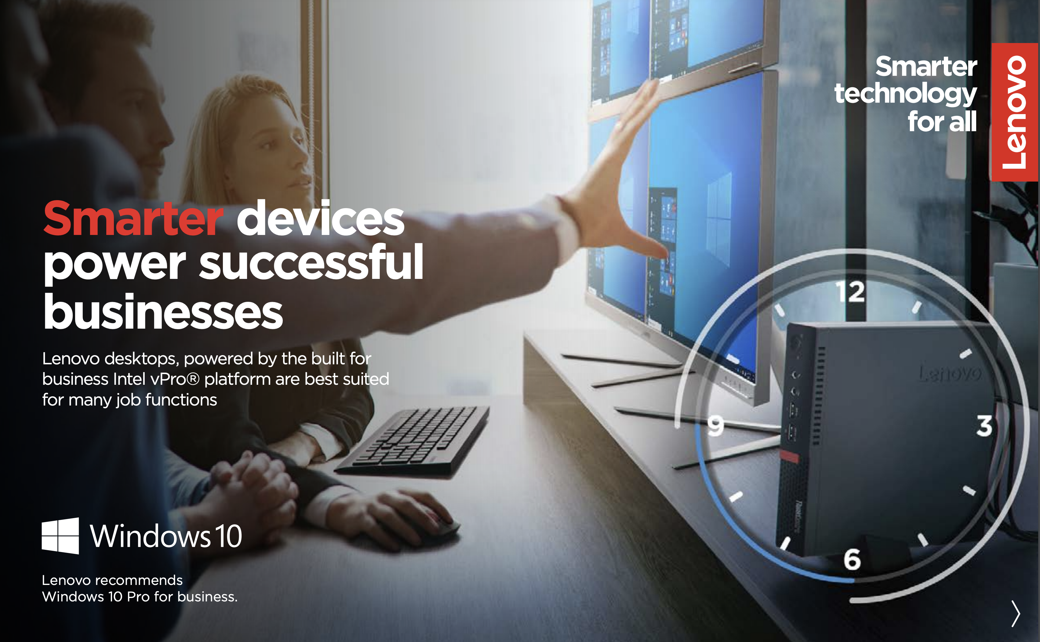 Lenovo Smarter Devices Cover