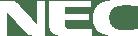 NEC white logo