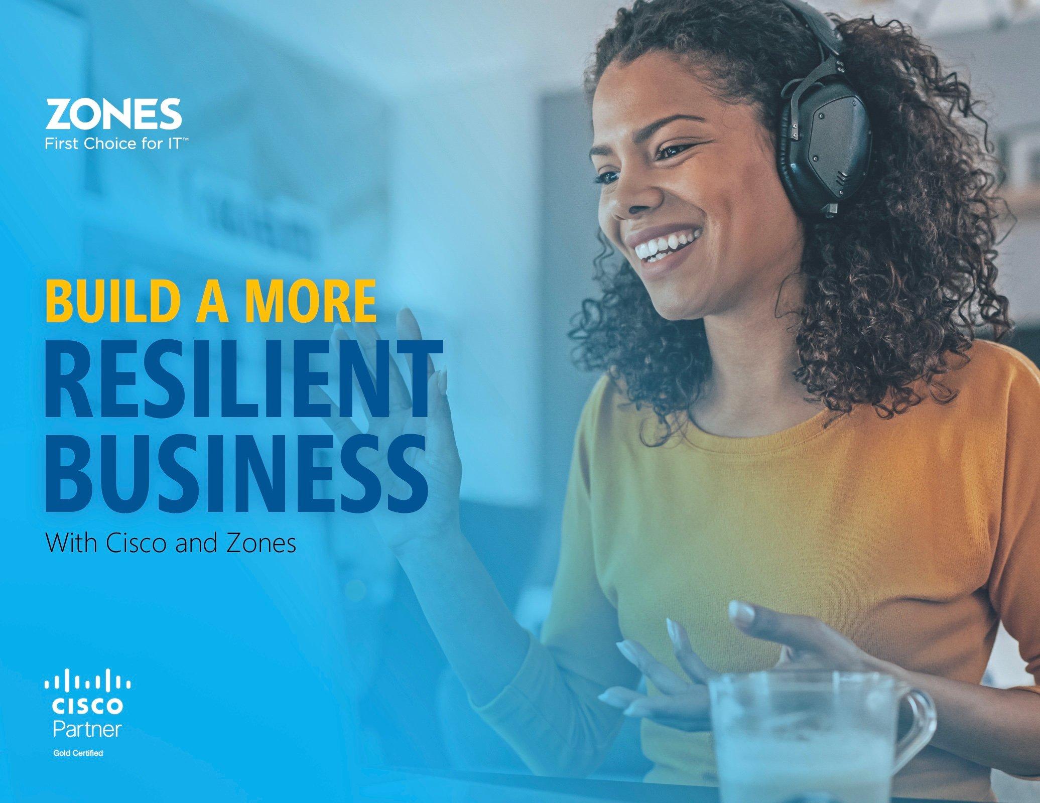 Q1-21 Cisco Resilient Businesses eBook cover