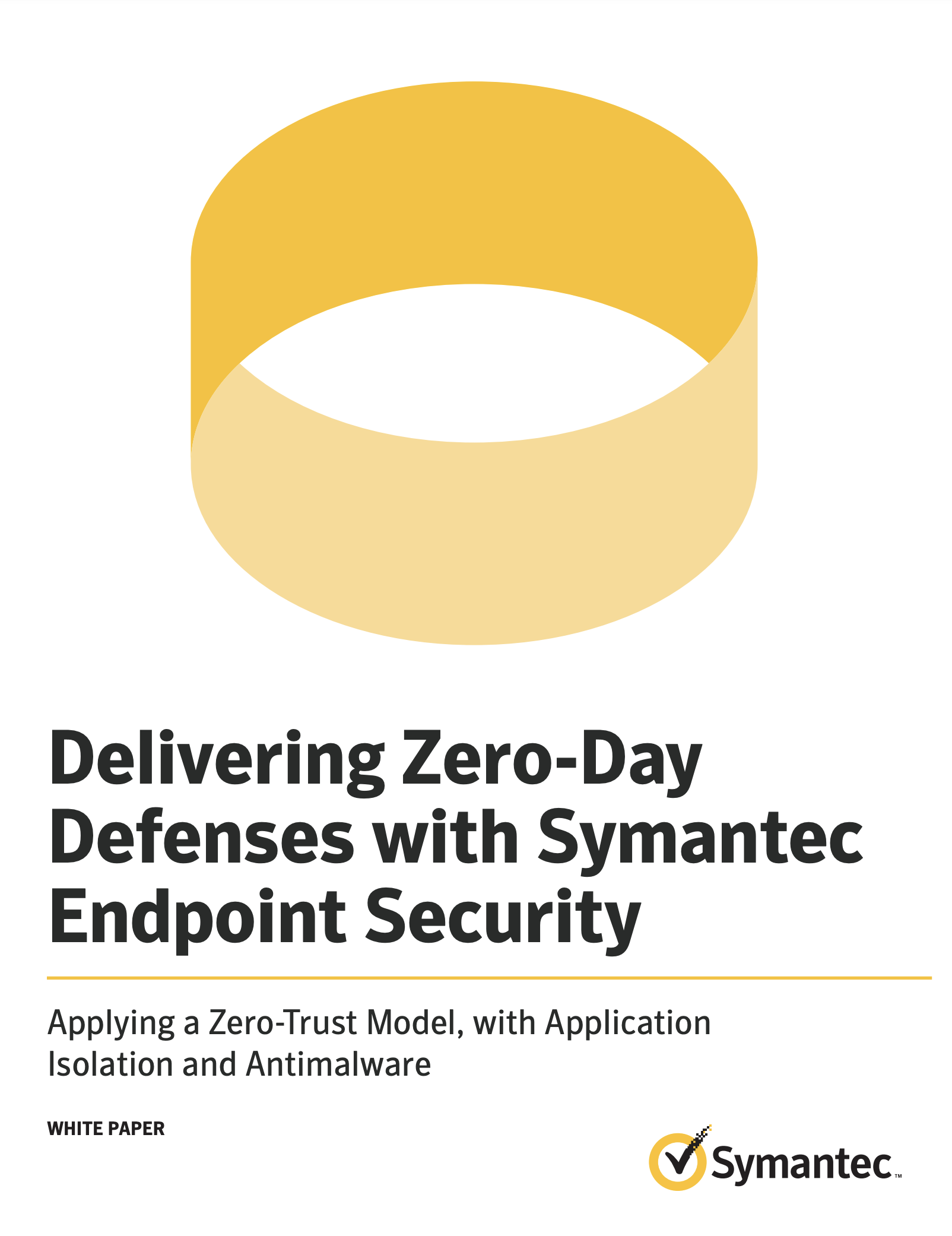 SYMANTEC ENDPOINT SECURITY WHITEPAPER
