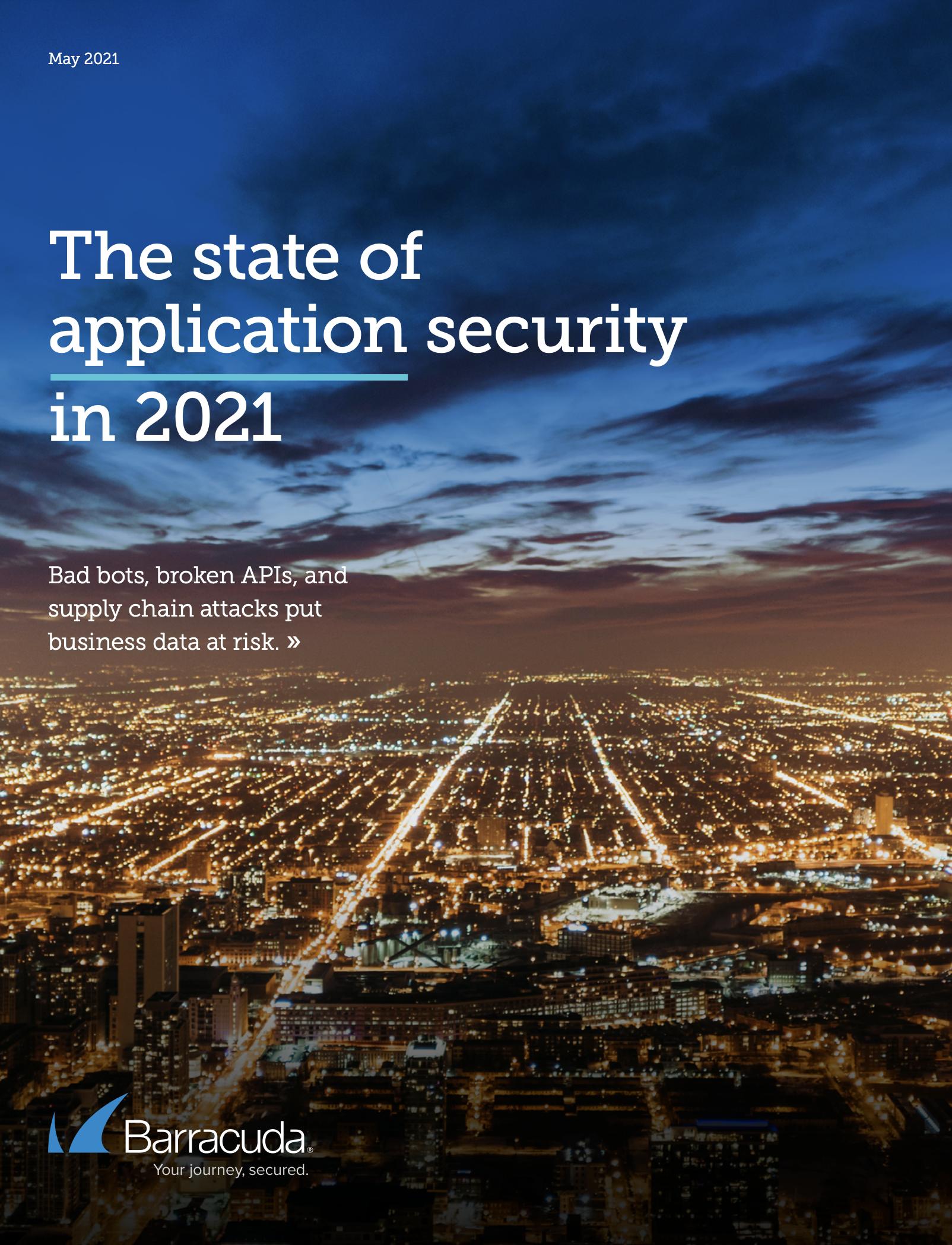 application security report Barracuda