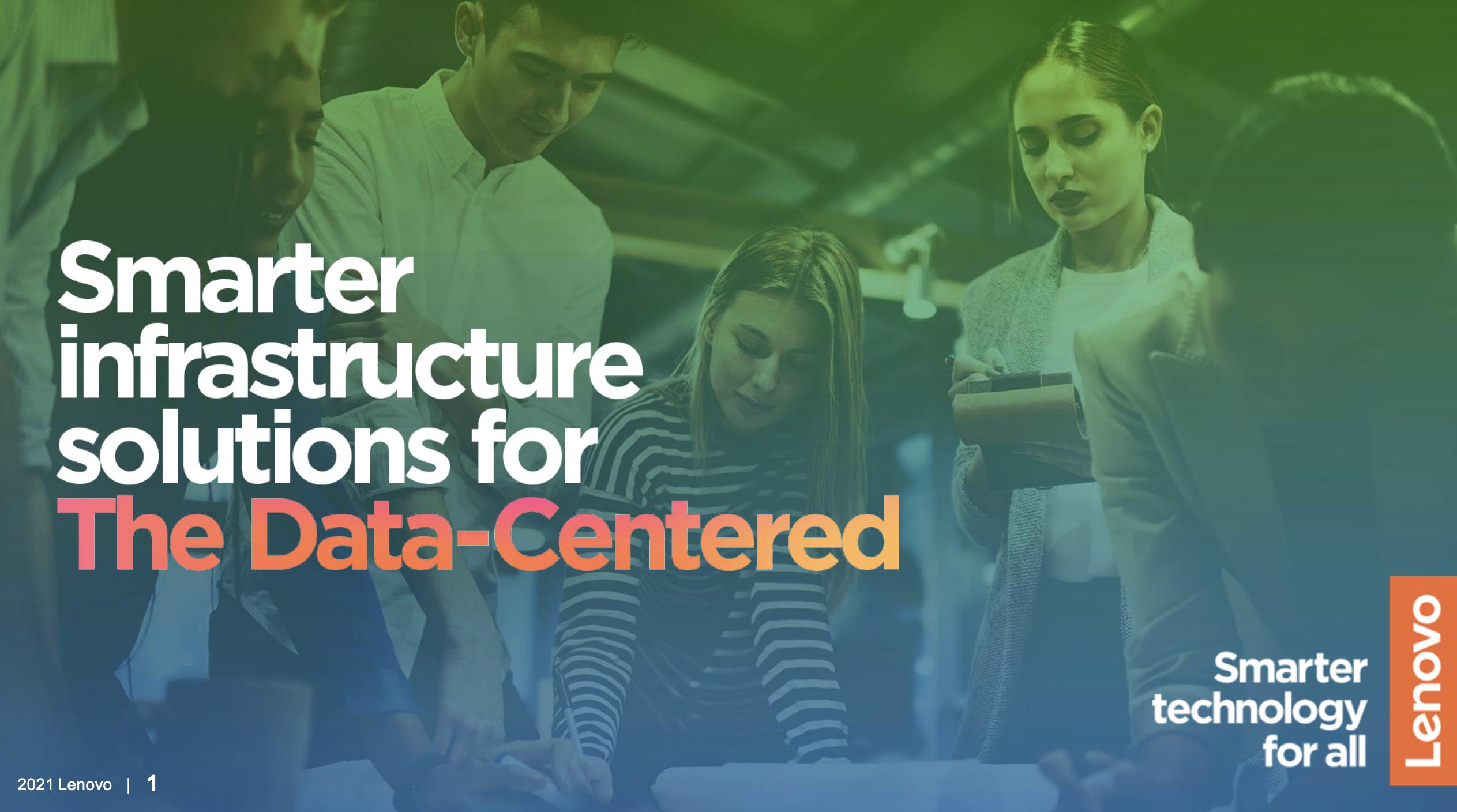 data-centered infrastructure