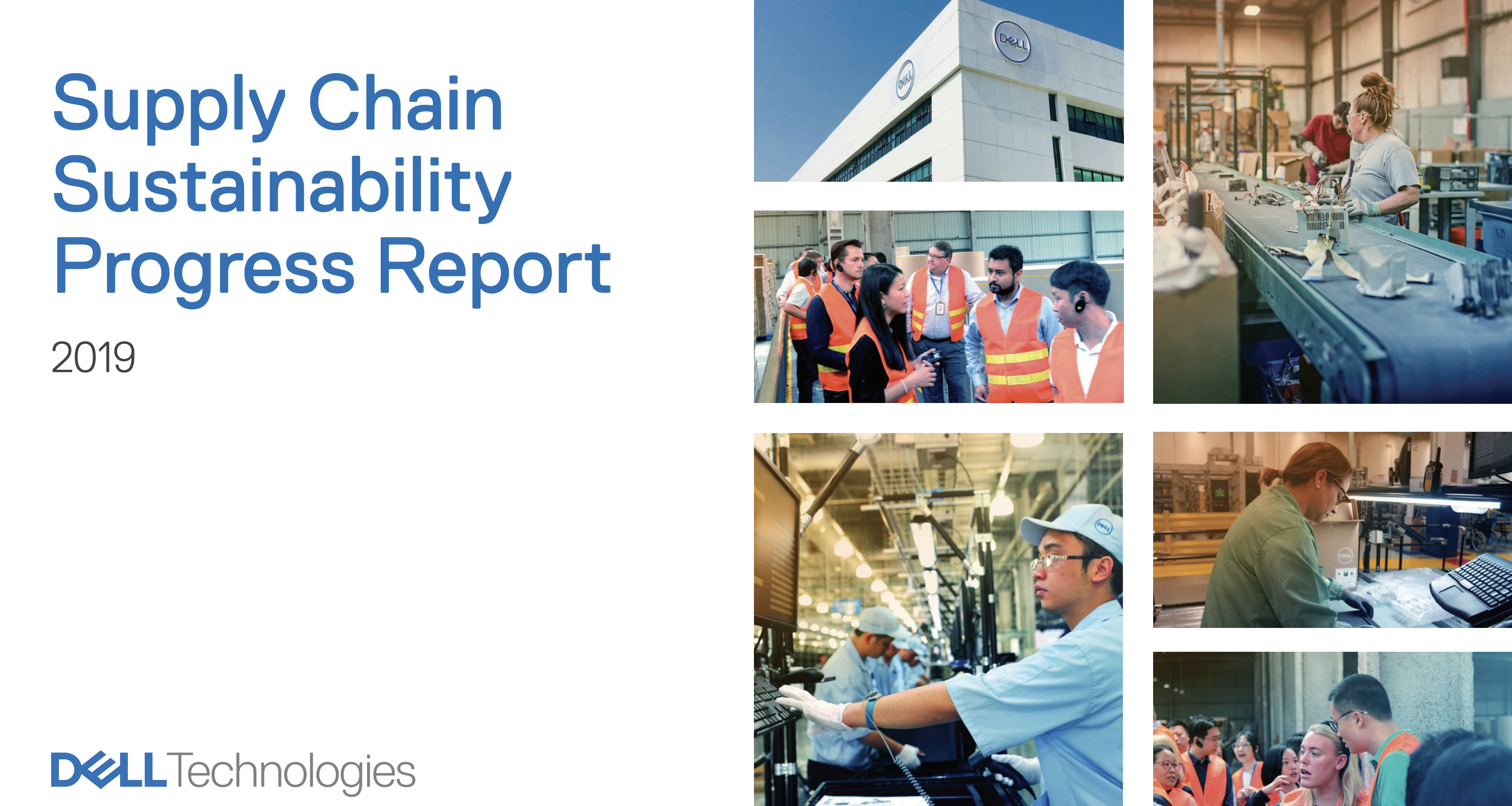 Dell Supply chain sustainability report cover