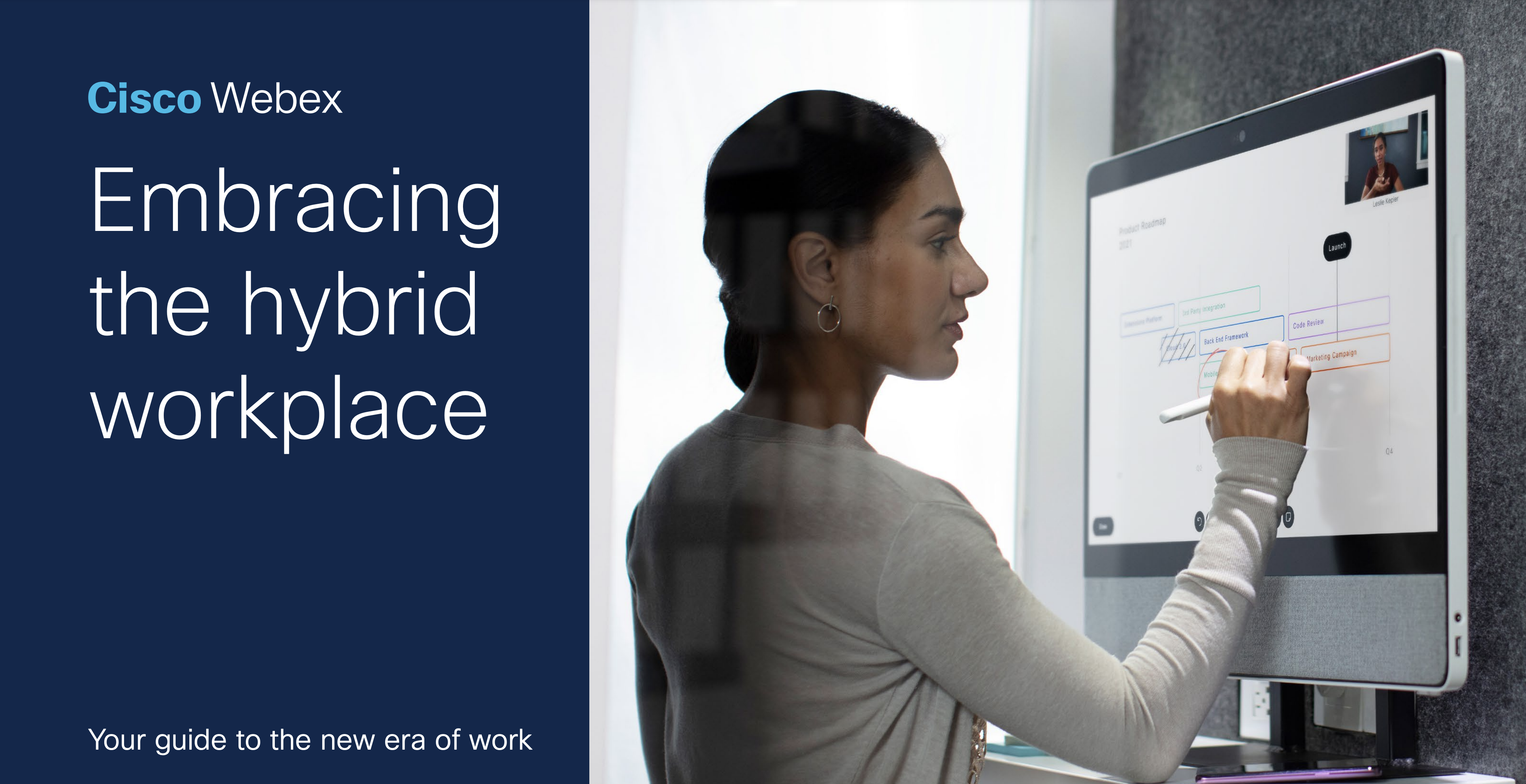 Embracing the Hybrid Workplace Cisco eBook Cover