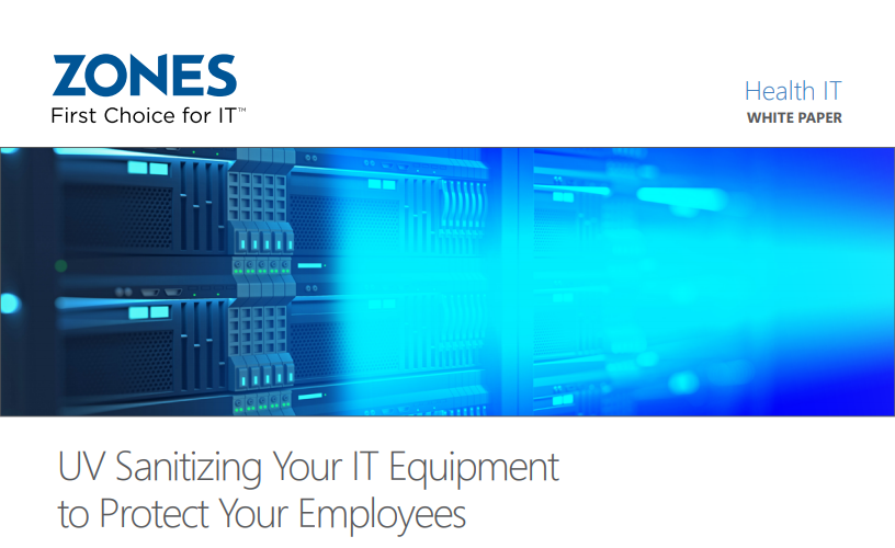UV Sanitizing Your IT Equipment to Protect Your Employees